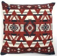 Polo Ralph Lauren Home Throw Sofa Pillow Goose Down Southwest Red/White/Navy