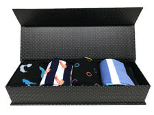 Gift Box with 4 Pairs of Quality Classy Odd Socks - Perfect Valentine's Day Gift
