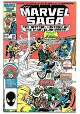 The Marvel Saga the Official History of the Marvel Universe #10 (Sep 1986,...