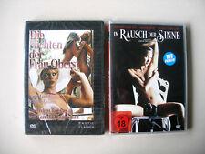 DVD-Erotikfilme ab 18 Die Nichten der Frau Oberst u. Im Rausch der Sinne NEU OVP