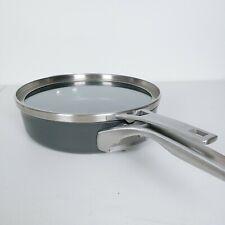 Calphalon Premier Hard Anodized Nonstick Stackable  3qt Saute Pan with Lid USED