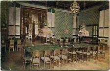 1924 San Pellegrino Kursali Sala Giuoco Interno Biliardo Cremona FP COL VG