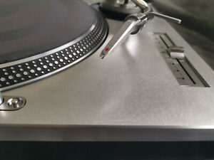 "TECHNICS SL-1200 Mk2 Ortofon Concord ""Metalfinish"" case"