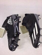 New Adidas Adizero 5-Star 5.0 Mid Football Cleats Black Chrome Sz 10 Samples