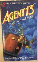 AGENT 13 Midnight Avenger #2 Serpentine Assassin by Flint Dille (1986) TSR pb1st