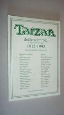 PORTFOLIO * TARZAN DELLE SCIMMIE 1912/1992 * MAGNUS BONVI GALEP TOPPI JACOVITTI