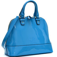 New Dasein Womens Handbags Leather Tote Shoulder Bags Satchels Top Handle Purse