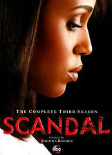 Scandal: The Complete Third Season (DVD, 2014, 4-Disc Set) Brand New 3 3rd   57A
