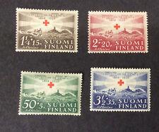 Finland #B35-#B38, Mint, NH, OG