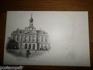 CPA - 52 - CHAUMONT, HOTEL DE VILLE, non voyagée, POSTAL CARD