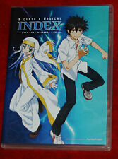 A Certain Magical Index : Part One (DVD  2-Disc Set) FUNIMATION ANIME