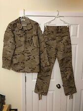 Spanish Army Combat Desert Urban Uniform NWT S/L Pixel M09 Tan Brown