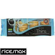 Ricesnax Salt & vinaigre de riz épais x 3 PKS