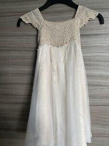 Stunning girls Monsoon dress age 4 Wedding Bridesmaid Party Summer