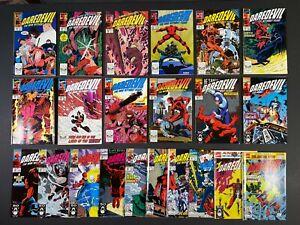 Run of (22) Daredevil (1988-92) #259-307 + Annuals Marvel Comics More Listed
