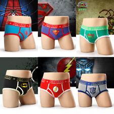 Yeke Men Soft Super Heros Underwear Underpants Boxer Berif Cotton Trunk Shorts