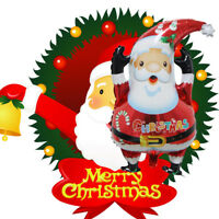 Large Santa Claus Aluminum Foil Balloon Christmas Party Decoration Merry Xmas LR