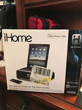 iHome iD91BZC Dual Alarm Stereo iPhone/iPad Dock