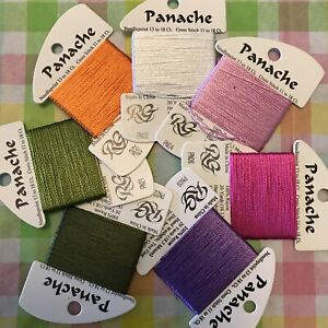 7 - Rainbow Gallery Thread PANACHE COLLECTION Needlepoint Embroidery Floss NEW