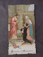 Image pieuse Souvenir de premiere communion  Edition N.V 527
