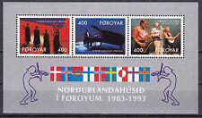 Färöer Block 6 postfrisch 10 Jahre Haus des Nordens