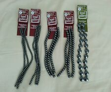 Bead Gallery Lot of 5 Cards Hematite Beads Assorted