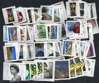 $50.00 Face Value (55 X P Stamps) UNCANCELLED POSTAGE - OFF PAPER - NO GUM .