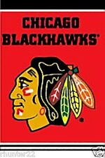 Chicago Blackhawks Huge 3x5 NHL Licensed Banner - Free Shipping