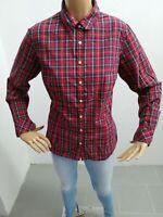 Camicia TOMMY HILFIGER Donna taglia size 12 shirt woman chemise maglia polo 5914