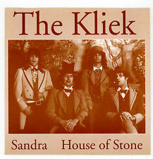 "Rare garage from HOLLAND : The KLIEK : Sandra - 7"" GERMANY 1992"