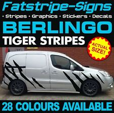CITROEN BERLINGO TIGER STRIPES GRAPHICS STICKERS DECALS L1 L2 CREW CAB DAY VAN