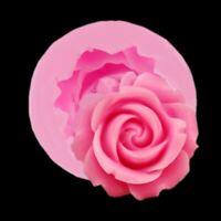 Silicone Fleur Rose Fondant Chocolat Moule Gâteau Décoration Cuisine Outil