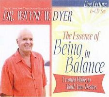 Dr Wayne Dyer The Essence Of Being In Balance 6 Cd Set