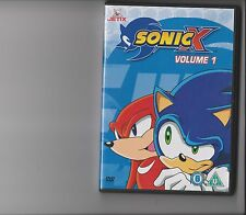 SONIC X VOLUME 1 DVD CARTOON 2 EPISODES SONIC HEDGEHOG