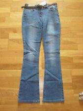 Bootcut Regular Size Cotton Trousers NEXT for Women