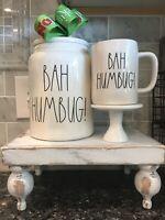 Rae Dunn Bah Humbug Canister & Mug Set