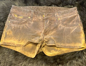100% AUTHENTIC Robin's Jean Stretch Shorts  Size 28