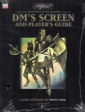 Sword & sorcery-monte Cook 's Arcana unearthed player's Guide-DM' s screen-rare