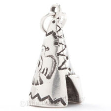 TEPEE Charm Pendant Native American Indian Southwest bird STERLING SILVER 3D 925