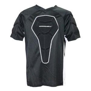 Winnwell Basic Senior Padded Roller Hockey Shirt - Black, White (NEW)