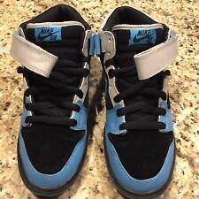 Nike Dunk SB Mid Pro Black/Aqua Feel Blue W/ Box - Men's Size 8.5