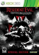 Resident Evil: Operation Raccoon City Special Edition Xbox 360 New Xbox 360
