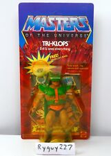 MOTU, Tri-Klops, Masters of the Universe, MOC, carded, figure, He Man, sealed