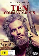 The Ten Commandments - DVD Region 4