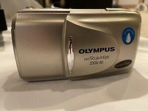 Olympus Stylus Epic Zoom 80 35mm Point & Shoot Film Camera