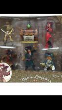 Disney Parks Pirates of the Caribbean 6 pc Ornament Set.
