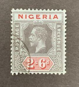 Nigeria Sg 9 F/U Cat £6,50