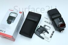 Canon Speedlite 430EX II Shoe Mount Flash New Condition Open Box, Fast Free Ship