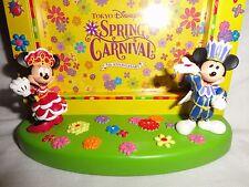 Tokyo DisneySea Spring Carnival Photo Frame Figurine Mickey & Minnie Disneyland