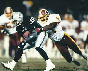 MONTE COLEMAN 8X10 PHOTO WASHINGTON REDSKINS PICTURE FOOTBALL NFL VS RAIDERS